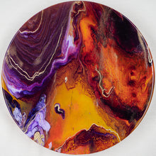 Load image into Gallery viewer, Athanasius - High-End Resin Art - Orange & Purple