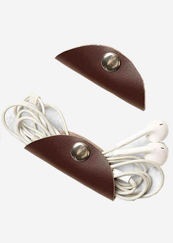 Leather Cord Keeper (Set of 2)
