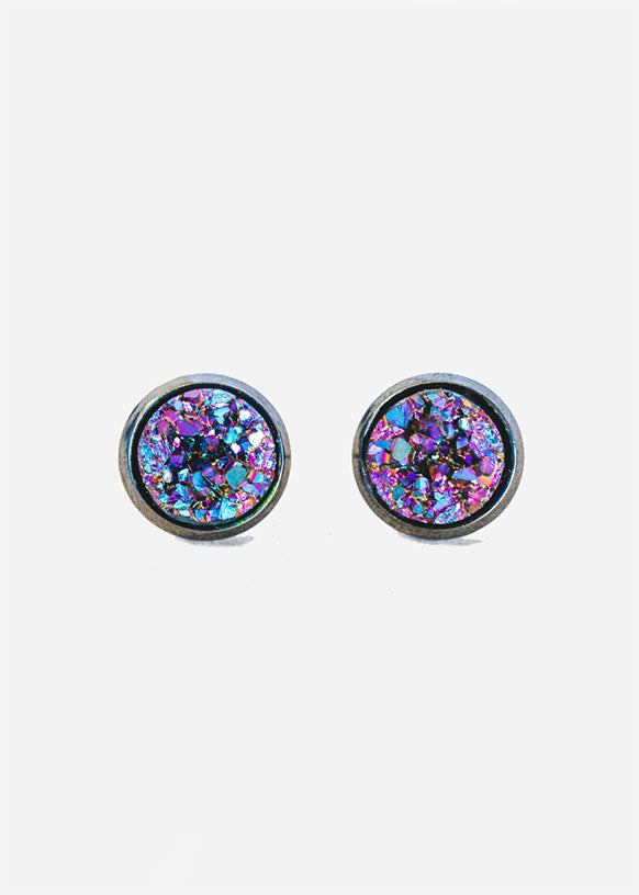 Aurora Borealis Kalenjin Post Earrings