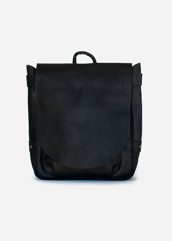 Black Crossbody Messenger Bag