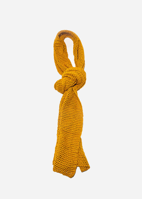 Goldenrod Knit Scarf