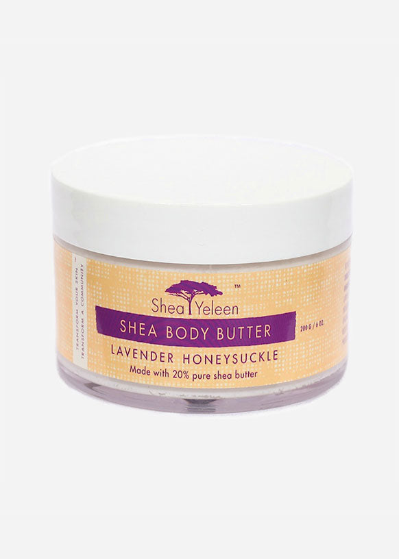 Lavender Honeysuckle Body Butter Cream