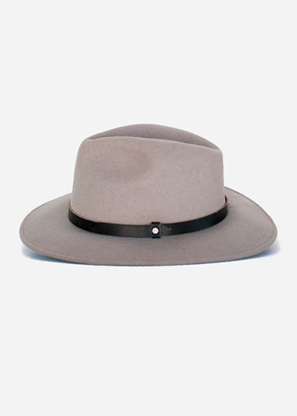 Light Grey Traditional Fedora