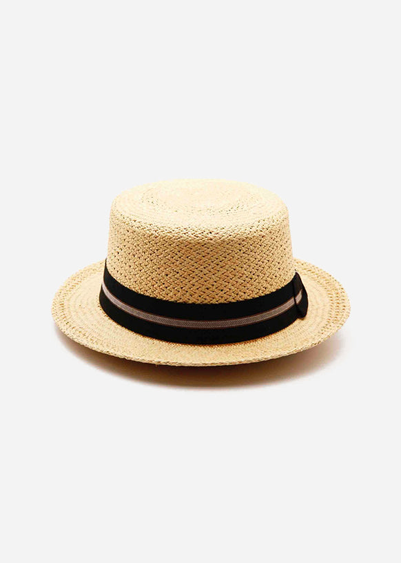 Nautico Club Black Ribbon Hat