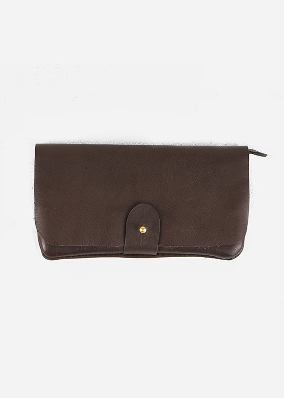 Brown Nubuck Wallet