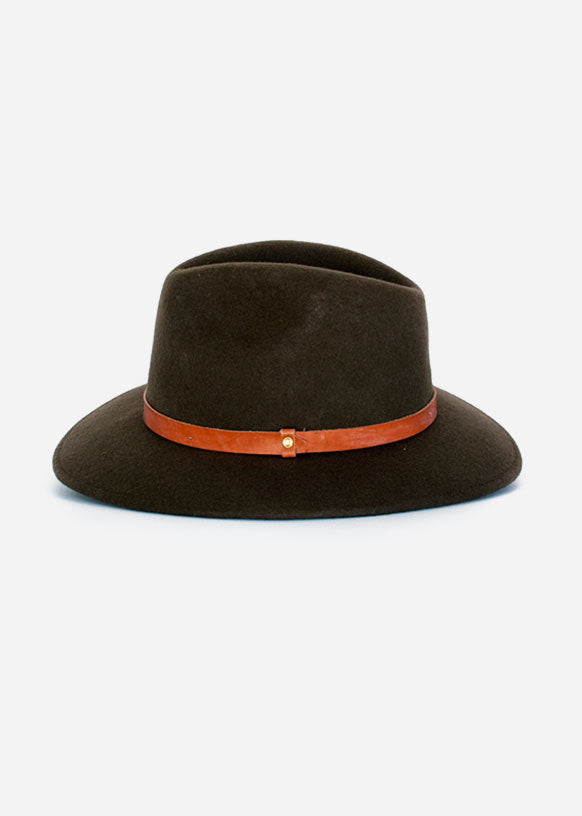 Olive Traditional Fedora