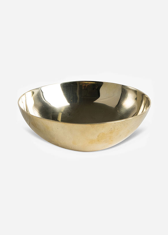 Petite Solid Brass Bowl
