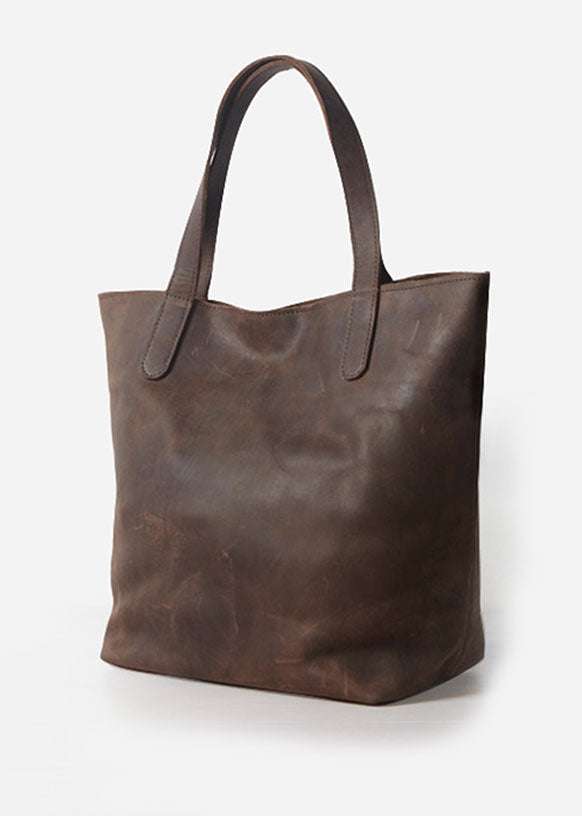 Saeda Leather Tote