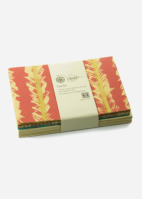 Silver City Assorted Handmade Paper Card Set
