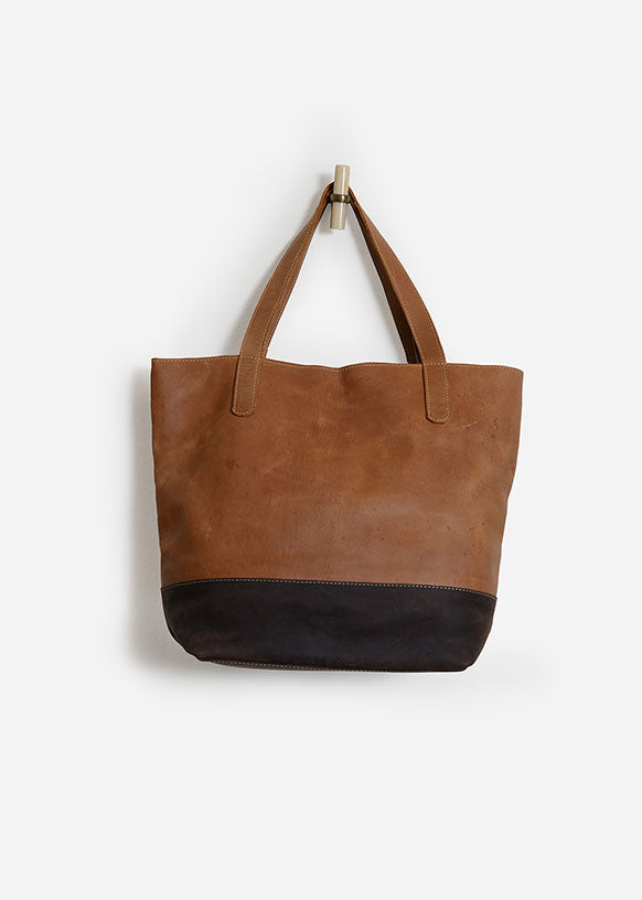 Tigist Leather Tote