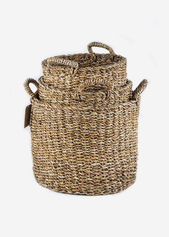 Oval Bengal Floor Baskets