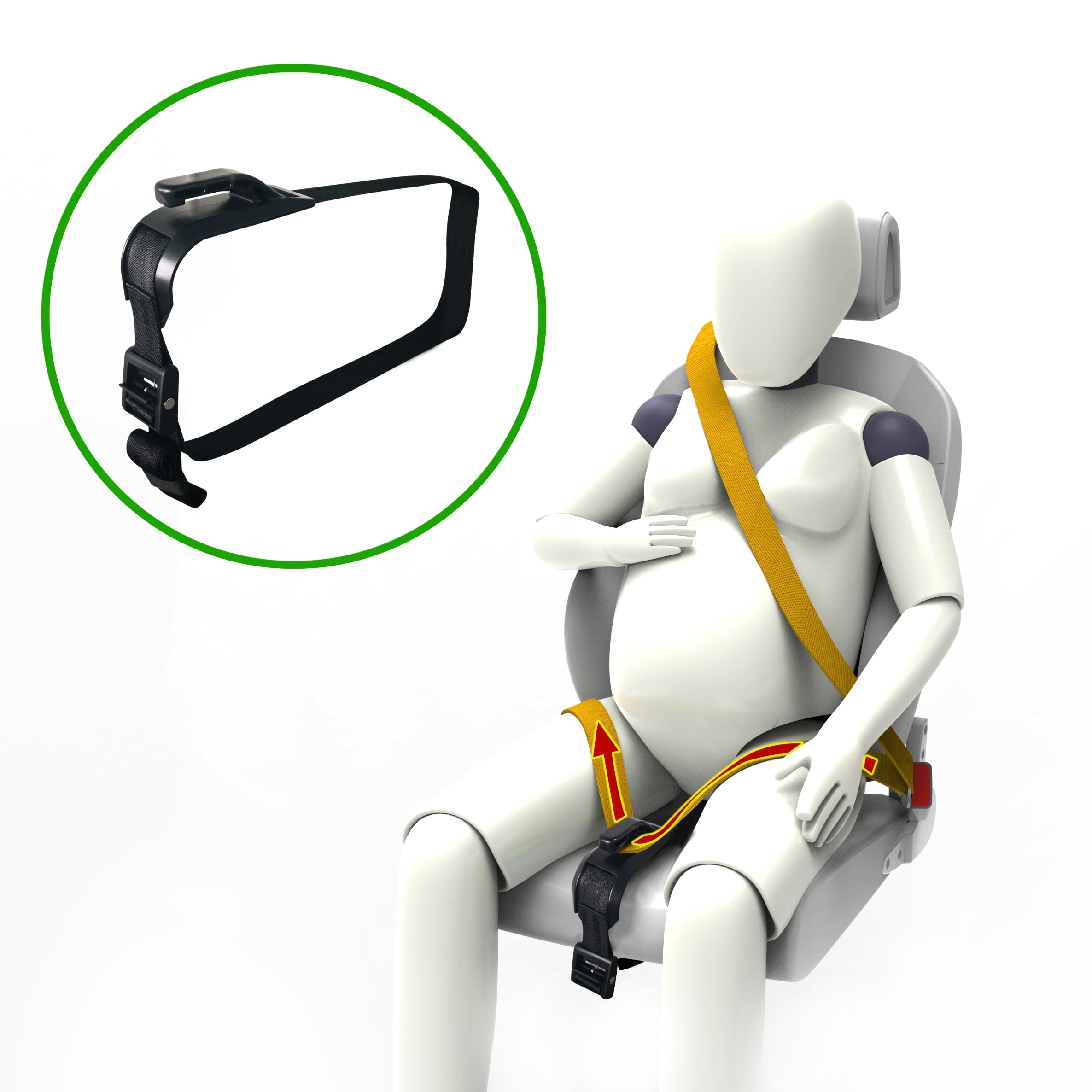 SEATBELT ADJUSTER FOR PREGNANCY