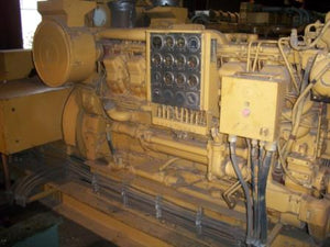 1050 KW 1200 RPM 4160V Caterpillar D3512