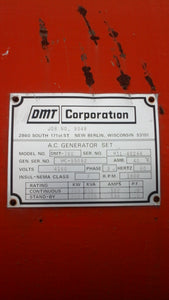 780 KW 4160V 1800RPM DMT Corporation