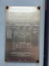 Load image into Gallery viewer, Westinghouse 10000KVA 39490-4160
