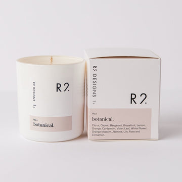 R2 Botanical Candle with box
