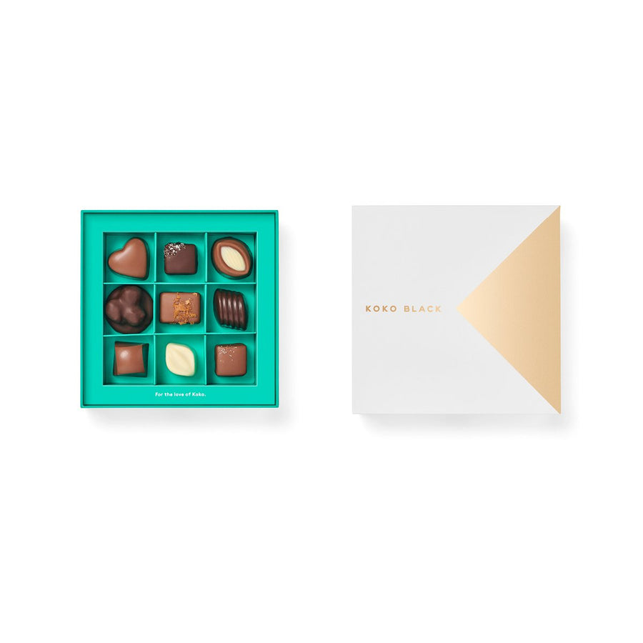 Koko Black Chocolatier's Gift Box 9 Piece