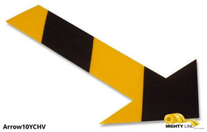 "Mighty Line Arrows (10"" by 6"" and pack of 50) - 5S Floor Tape LLC"