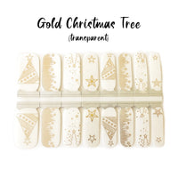 Gold Christmas Tree (Transparent)