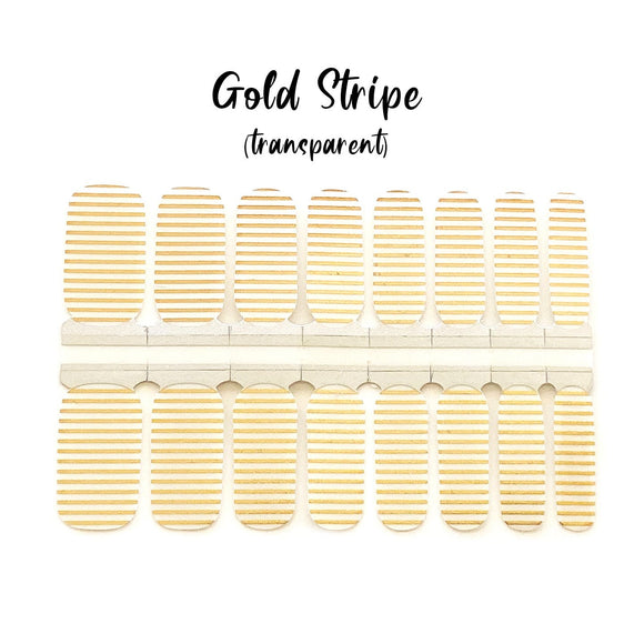 Gold Stripe (transparent)