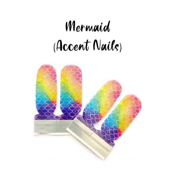Mermaid_Accent Nails