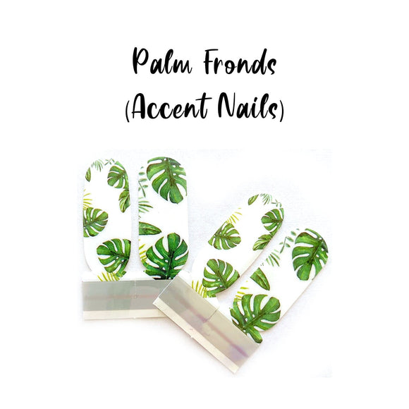 Palm Fronds_Accent Nails