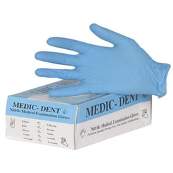 Nitrile Gloves Blue Powder Free 100/Box
