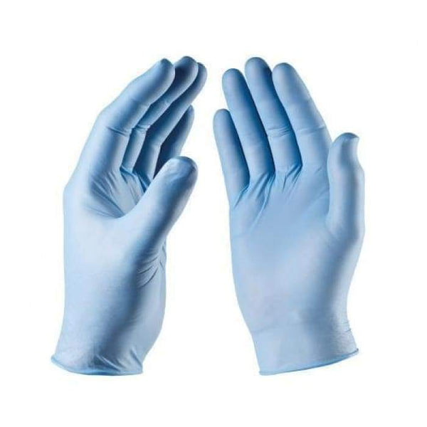 Nitrile Gloves Blue Powder Free 100/Box - Small