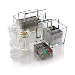 Slide Staining Jar and Racks