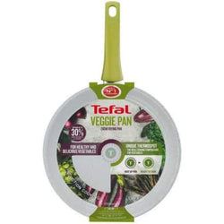 Tefal Veggie Pan C4090642 Frying 28cm / Grey Stone Effect