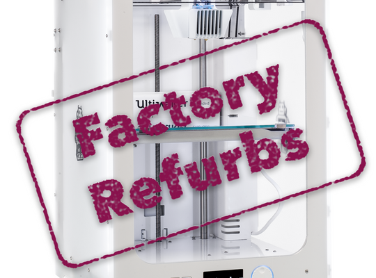 Ultimaker 3 Extended with Refurb stamp