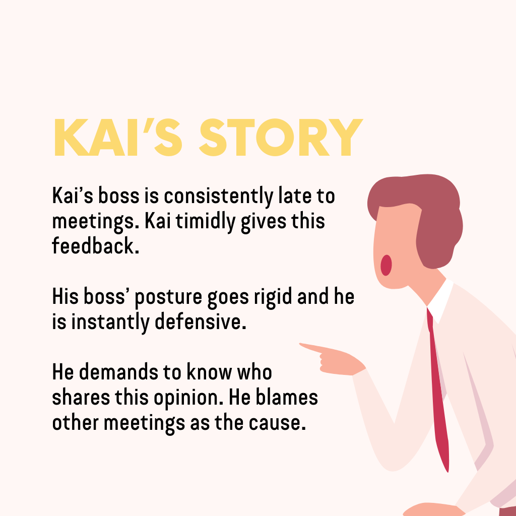Difficult Conversations: Anger =  Faking calm (Kai's story)