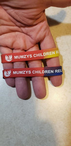 Join MUMZYS Wristbands club - 5 Sizes: Small (kids), M, L, XL