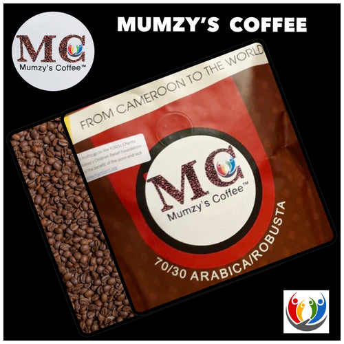 MUMZY'S COFFEE! 70/30 ARABICA/ROBUSTA. Stunning Whole Beans Blend, Soft & Strong! On Sale Now $15.00