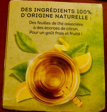 Load image into Gallery viewer, Lipton: LEMON Green Tea / Thé Vert Citron