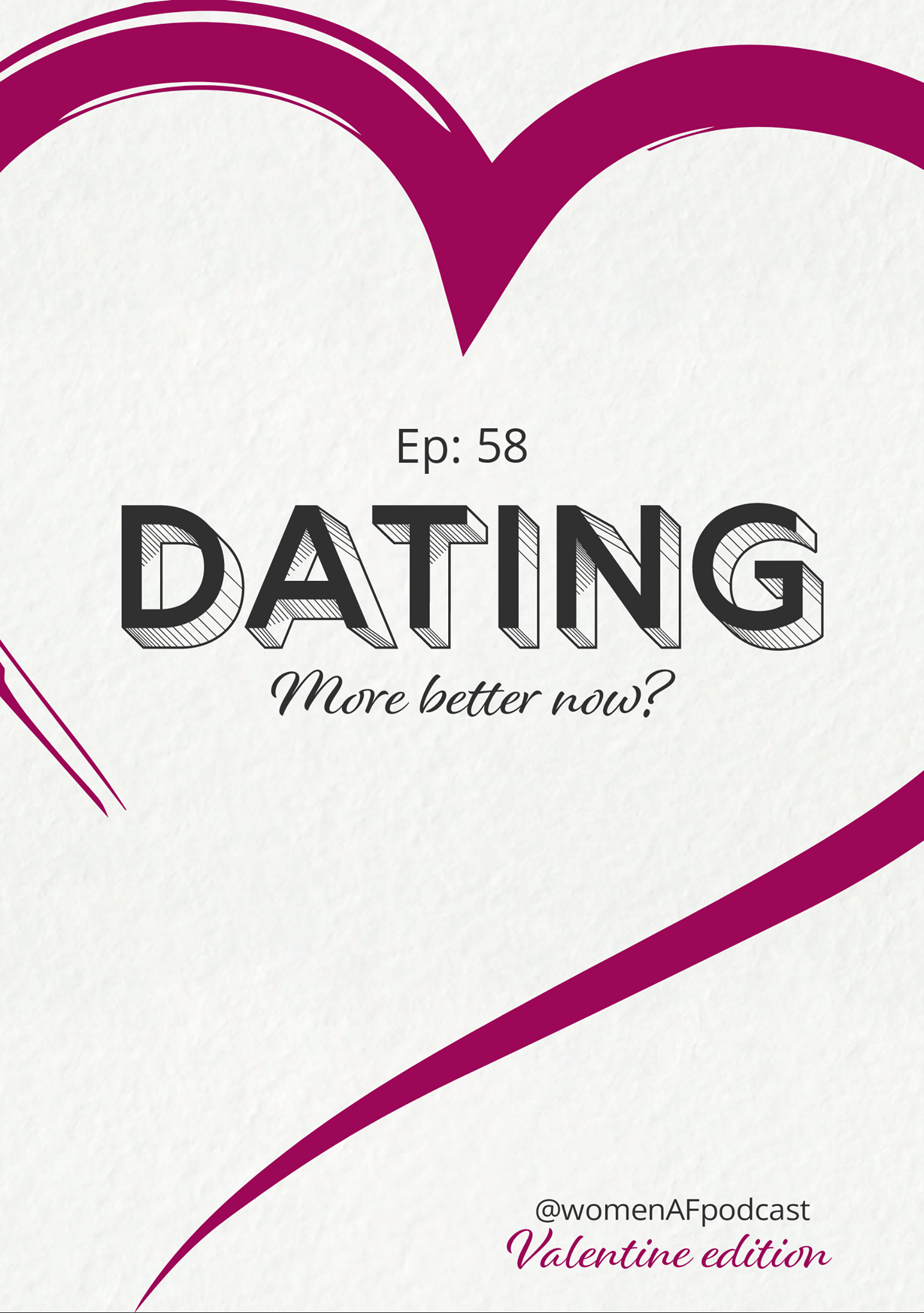58: Dating: More Better Now?