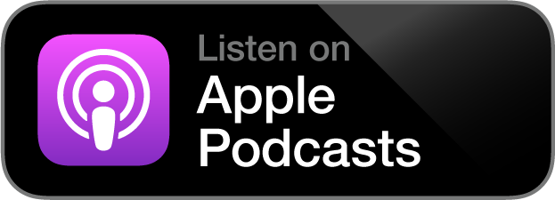 Apple Podcasts Logo and Link to Women AF Podcast on Apple Podcasts