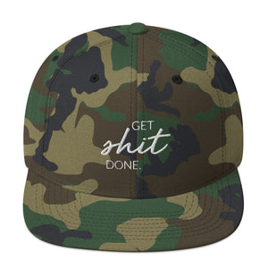 Get Shit Done Snapback Hat