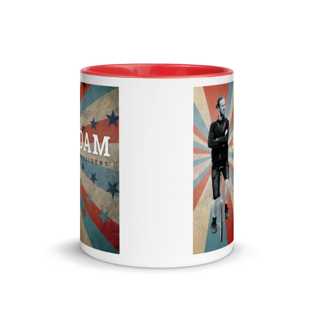 Adam for President Coffee Mug