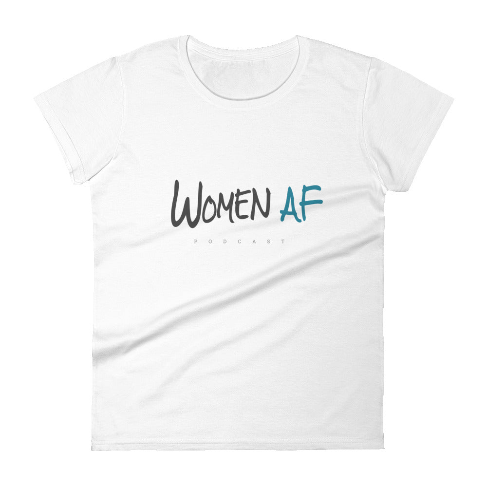 Women AF Logo Women's Short Sleeve T-Shirt