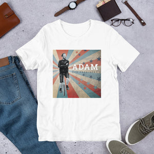 Adam For President Short-Sleeve Unisex T-Shirt