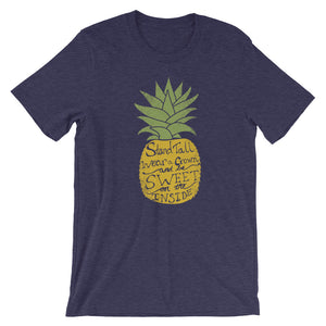 Be A Pineapple Short-Sleeve Unisex T-Shirt