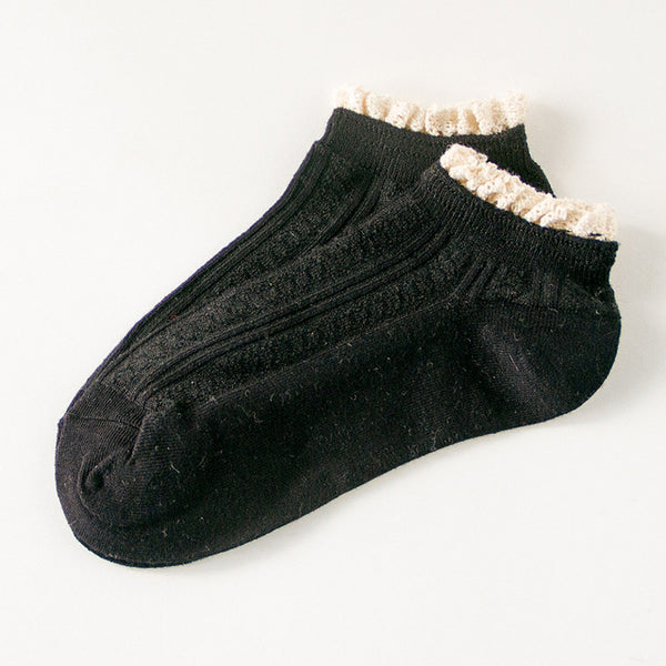 Cozy lace Ankle Socks