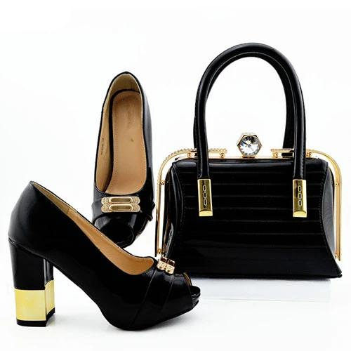 Matching Bag and Shoes Evening Event Set