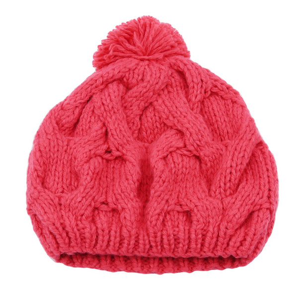 Wool Knit Winter Beanie