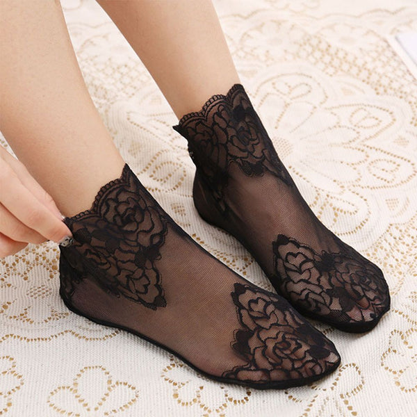 Fashion Lace Socks