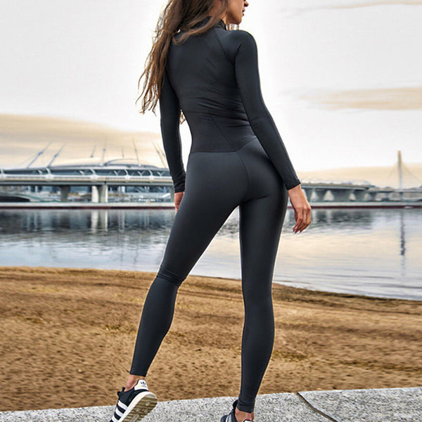 Bodycon Workout Jumpsuit