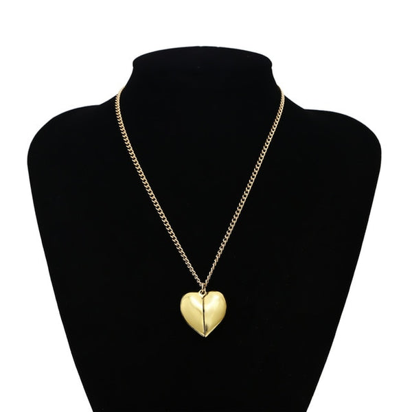 """You're my dream"" Open Heart Pendant Necklace"