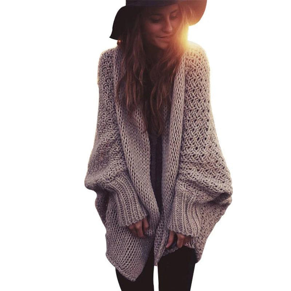 Knitted Batwing Beach Cardigan