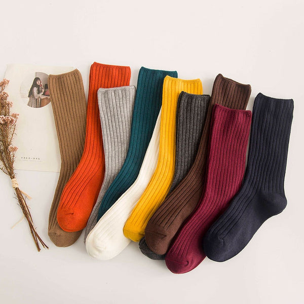 Long Knit Socks